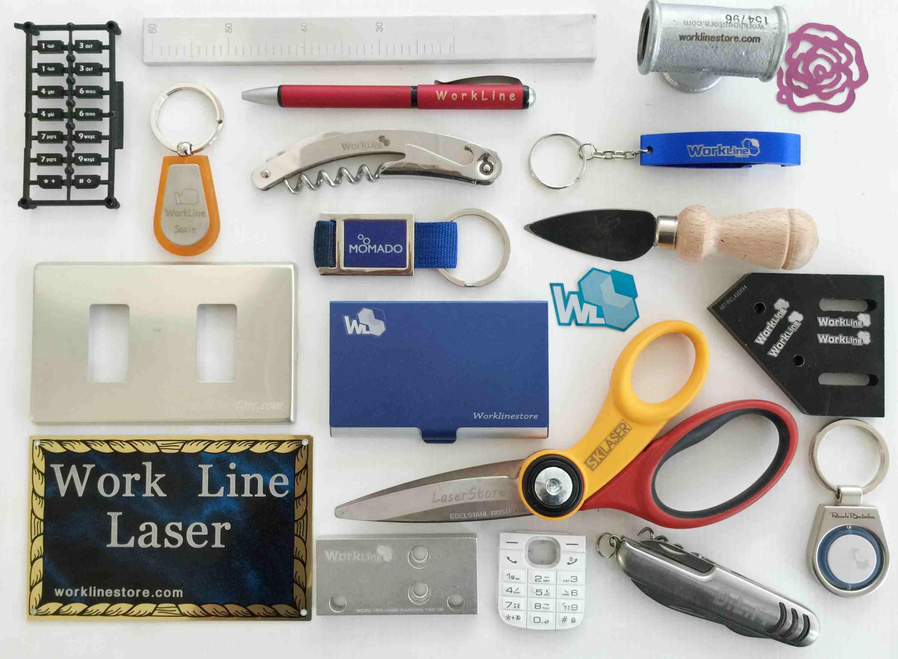 lalcune lavorazioni laser fibra possibili